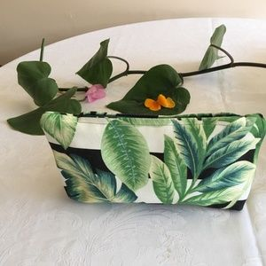 Tropical Palm Clutch by Ginger